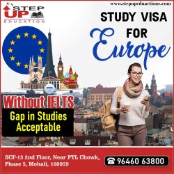 Europe Study Visa Without IELTS / PTE