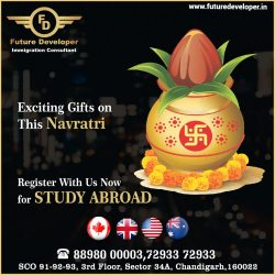 Exciting Gifts on This Navratri – Plan Your Study Visa With Us