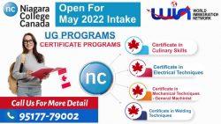 Niagara College – Open For May 2022 Intake UG Programs
