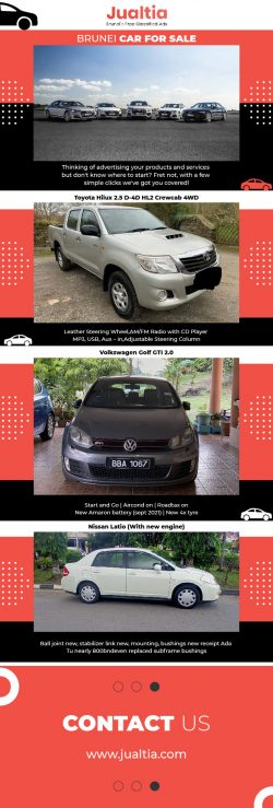 Find Brunei Used Cars for Sale – Jualtia