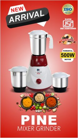 Mixer Grinder Manufacturer In Uttarakhand- Florita