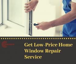 Get Low-Price Home Window Repair Service