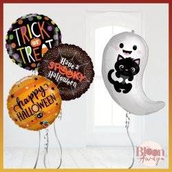 Get Pre-inflated Halloween Balloons Delivered to your Doorsteps from BloonAway