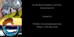 Best Cremation Art Work – Jenna Jones Art
