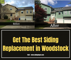 Get The Best Siding Replacement in Woodstock