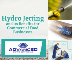 Hydro Jetting and its Benefits for Commercial Food Businesses