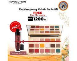 Buy Revolution Roxi Roxxsaurus Ride Or Die Palette Free Liquid Catsuit Lipstick (Give Me Mocha)  ...