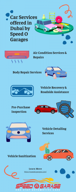 Car Services Offered in Dubai