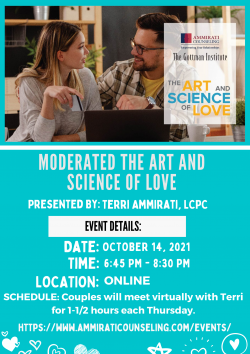 Moderate the Art and Science of Love