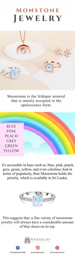 Fashionable Moonstone Jewelry