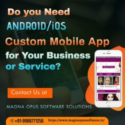 Custom Mobile App (Android/iOS) Development Services