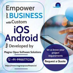 iOS Android App Development Company India