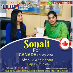 Congratulations !!!!! Canada Study Visa – After Graduation With Overall 6 Bands in IELTS