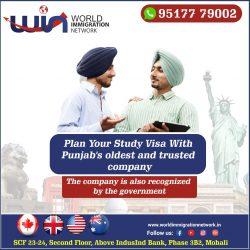 Want to Go Abroad on Study Visa–Canada/USA/Australia/UK
