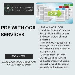 Best PDF to OCR Scanning Software Service Providers