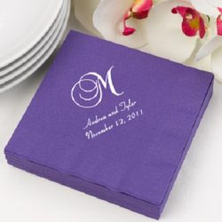 Personalized Napkins For Special Events