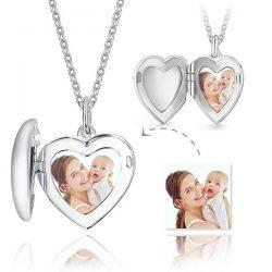 engraved portrait necklaces