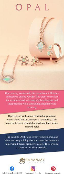 The Beauty Of An Opal Jewelry.