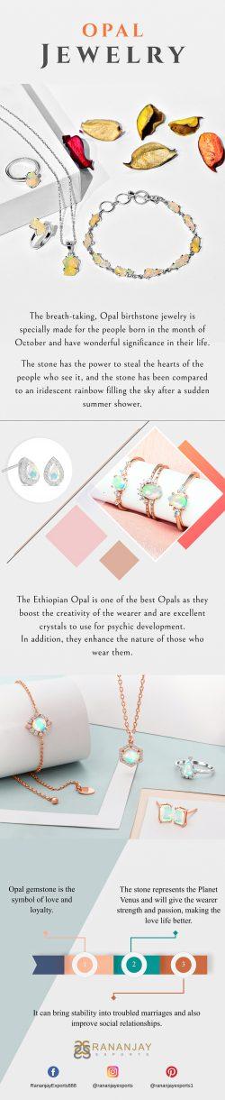 A Beautiful Opal Ring | Rananjay Exports