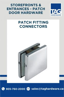 Collection of Commercial Patch Fitting Hardware in Canada