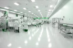 Electrostatic adsorption disinfection method in cleanroom