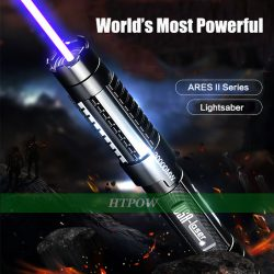 High Tech 30000mW 445nm Strong Powerful Laser Pointer Blue Burning Light with Laser Sword GIFT S ...