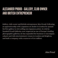 Alexander Proud Vision