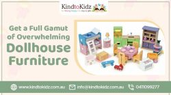 Get a Full Gamut of Overwhelming Dollhouse Furniture