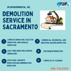 Preferred Demolition Sacramento Contractor- JM Environmental, Inc.