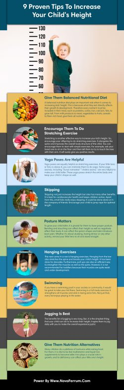 9 Proven Tips To Increase Your Child's Height