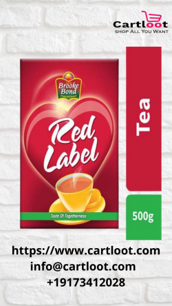 Morning booster – Red Label tea