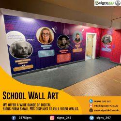 School Wall Art