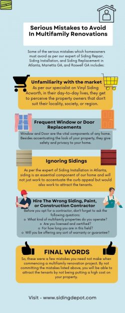 Serious Mistakes to Avoid In Multifamily Renovations
