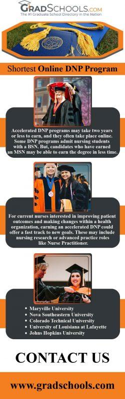 Shortest DNP Programmes Online