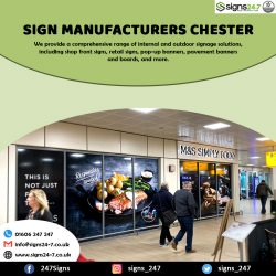 Sign Manufacturers Chester