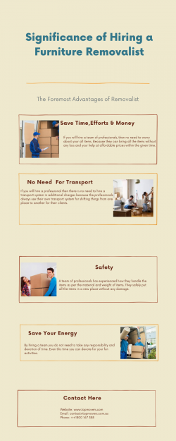 Significance of Hiring a Furniture Removalist