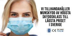 Munskydd IIR | covid 19