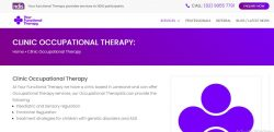 Telehealth occupational therapy