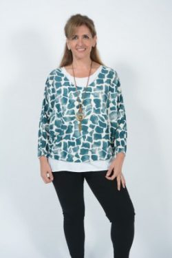 Buy Plus Size Italian Tops Online at Belle Love Clothing