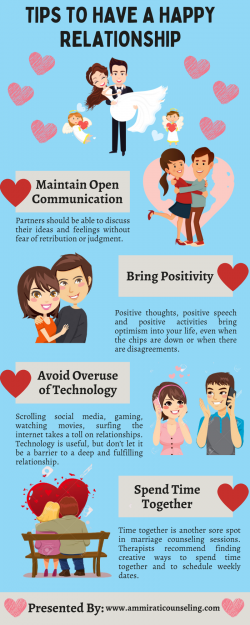 Tips for having a happy relationship with your partner