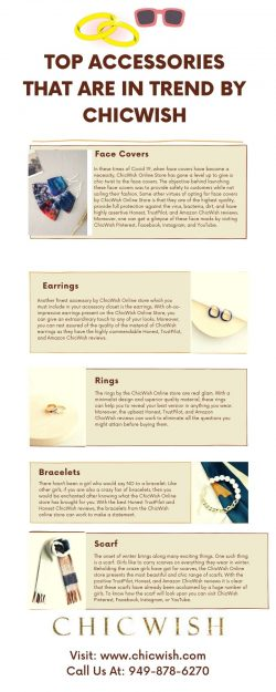 TOP ACCESSORIES THAT ARE IN TREND BY CHICWISH