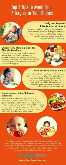 Top 4 Tips to Avoid Food Allergies in Your Babies
