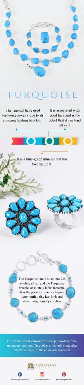Turquoise Jewelry And Amazing Healing Benefits