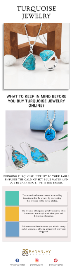 What to Keep in Mind Before You Buy Turquoise Jewelry Online?