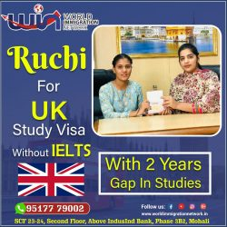Congratulations for UK Study visa Without IELTS
