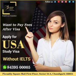 USA Study Visa With Spouse – Without IELTS / GRE.- F1 / F2