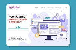 How to select website design company?