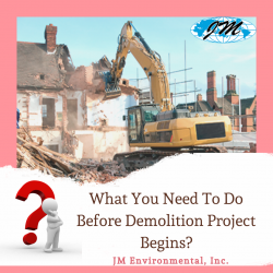 What You Need To Do Before Demolition Project Begins?