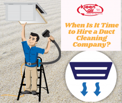 When Is It Time to Hire a Duct Cleaning Company?