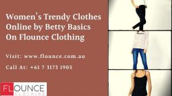 Women's Trendy Clothes Online by Betty Basics on Flounce Clothing